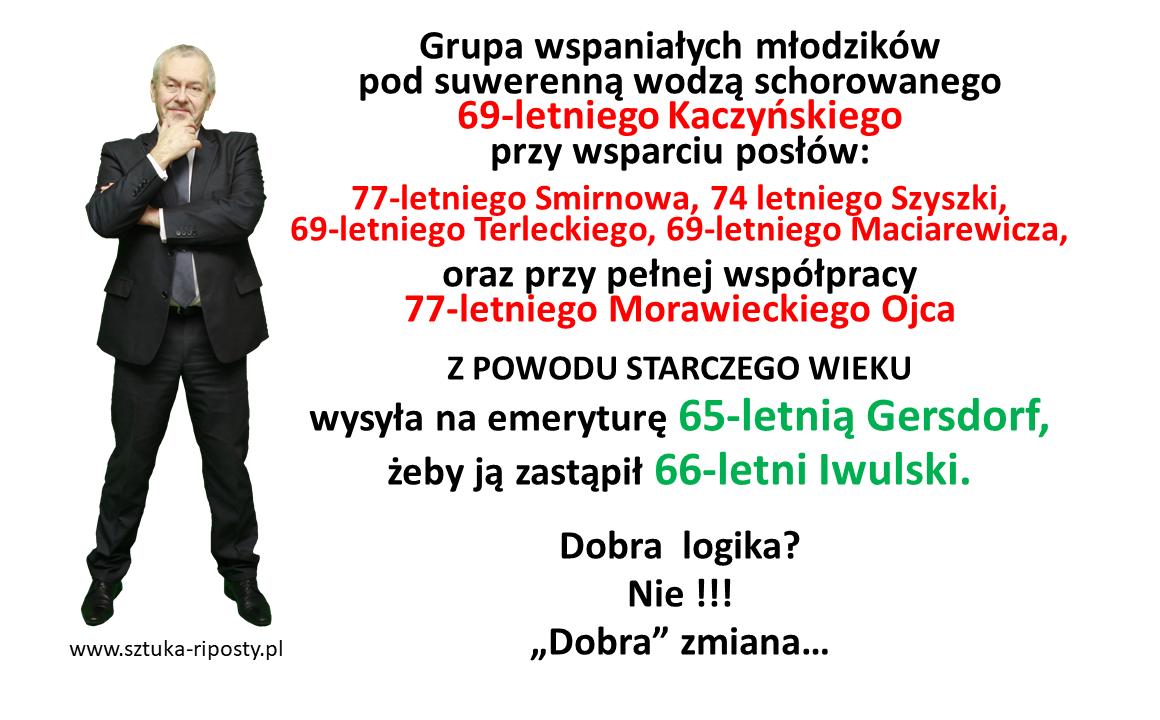 """""""Dobra"""" zmiana czyli """"dobra"""" zamiana"""
