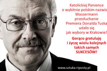 Przesłuchanie Premiera Tuska, www.sztuka-riposty.pl