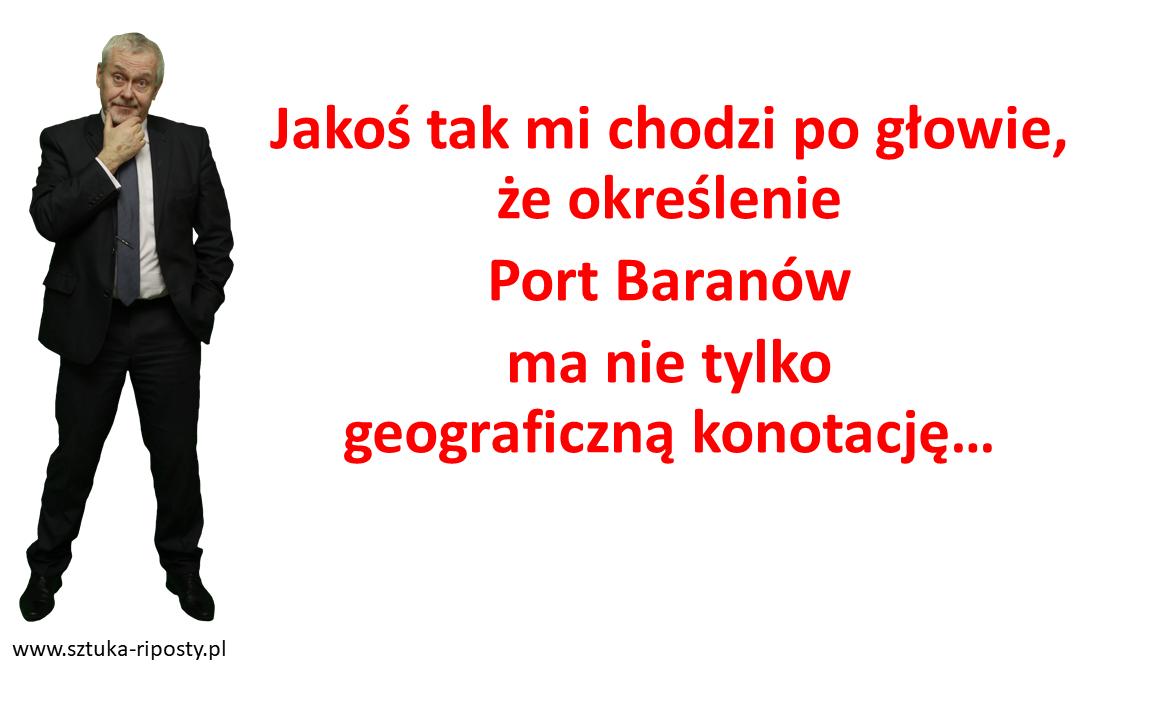 Co znaczy Port Baranów?